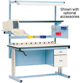 Ergo-Line Hand Crank or Electric Height Adjustable Workbenches