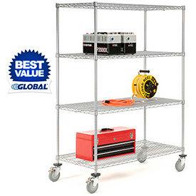 Nexelate Wire Shelf Trucks & Utility Carts