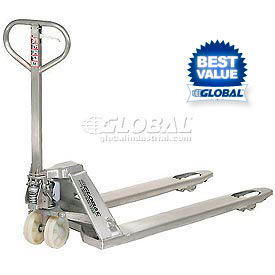 Stainless Steel & Galvanized Pallet Jack Trucks