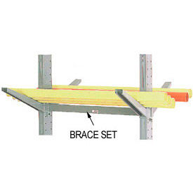 Global Approved (1000 Series) Horizontal Brace Set