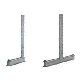 Global Approved (2000 Series) Uprights - Single & Double Sided - 26600 Lb Max. Capacity