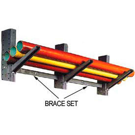 Global Approved (2000 Series) Horizontal Brace Set