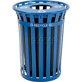 Global Industrial™ Outdoor Steel Recycling Receptacles