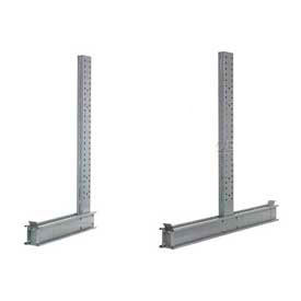 Global Approved (4000 & 5000 Series) Uprights - Single & Double Sided - 57200 Lb Max. Capacity