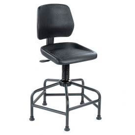 Interion® Spider Base Industrial Stool