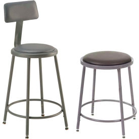 Interion™ - Vinyl Upholstered Shop Stool