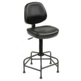 Interion® Industrial Anti-Microbial Stool With Spider Base