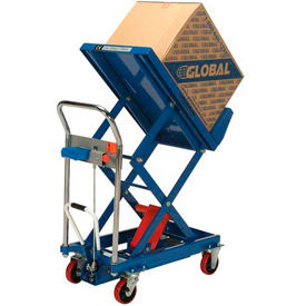 Global Industrial™ Mobile Scissor Lift & Tilt Tables