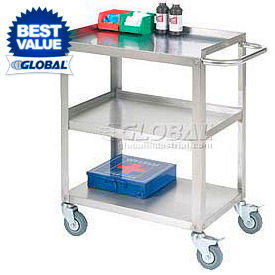 Stainless Steel Utility & Stock Carts - Ready to Assemble