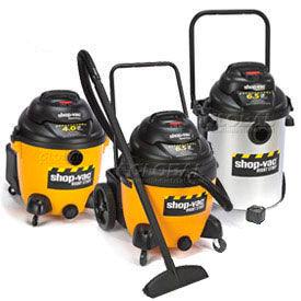 Shop-Vac® Industrial Wet Dry Vacuums