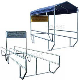 VersaCart® Outdoor Shopping Cart Corrals