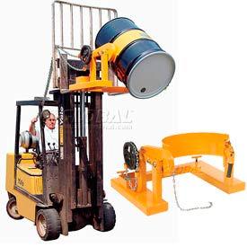 Forklift Mount Tilting Drum Dumpers & Rings