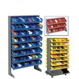 Pick Rack With Plastic Shelf Bins