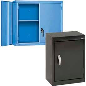 Compact & Wall Mount Solid Door Cabinets
