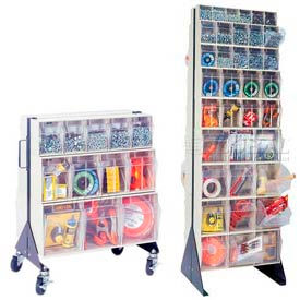 Single & Double Sided Clear Tip Out Bin Racks