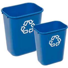 Rubbermaid® Deskside Paper Recycling Wastebaskets