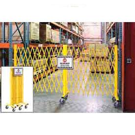 Global Folding Steel Barricade Security Gate