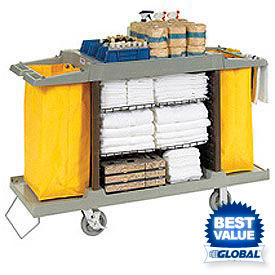 Global™ Housekeeping Cart