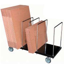 Steel & Chrome Portable Carton Storage Trucks