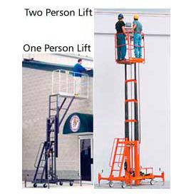 High-Platform Maintenance Lifts