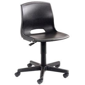 Interion® Contoured Plastic Chair