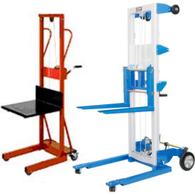 Hand Winch Operated Lift Trucks