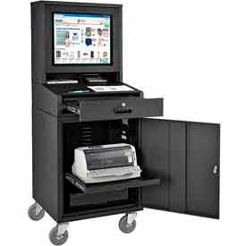 Computer Cabinet Enclosure For LCD Monitors