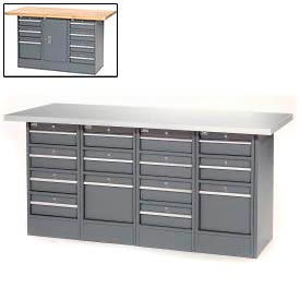 Heavy Duty Cabinet Workbenches At Global Industrial