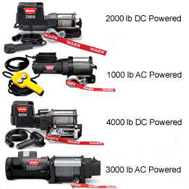Warn® Winches - AC & DC Powered
