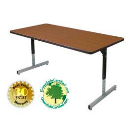 Manual Adjustable Height Tables