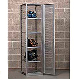 All Welded Compact Visible Storage Locker