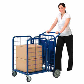 Fold-A-Way Steel Stock & Utility Cart
