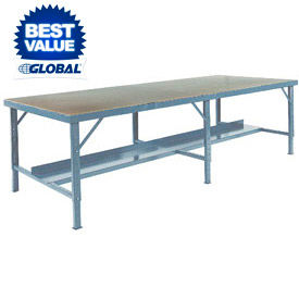 Extra Long Adjustable Height Assembly Workbenches