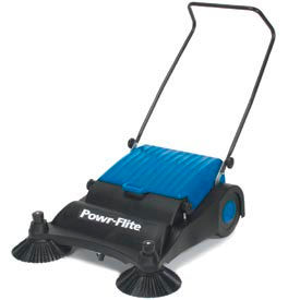 Powr-Flite® Industrial Push Sweeper