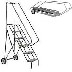 Roll & Fold Steel Rolling Ladders