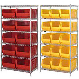 Chrome Wire Shelving With 24
