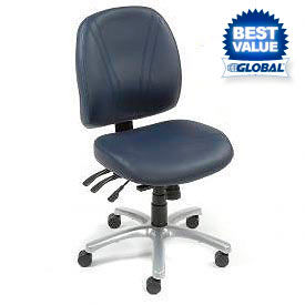 Interion® Vinyl Task Chairs