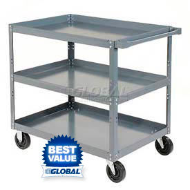 Steel Stock & Utility Carts - Ready to Assemble