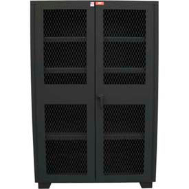 Extra Heavy Duty Ventilated Storage Cabinets - 1800 LB. Shelf Capacity