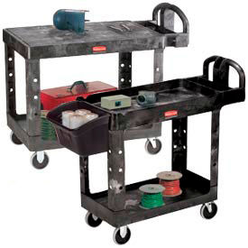 Rubbermaid® Plastic Service & Utility Carts