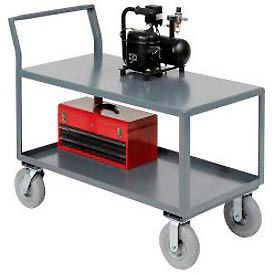 Low Deck Heavy Duty Steel Table Carts