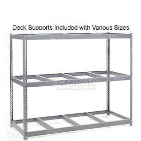 8'H Boltless Wide Span Metal Storage Rack Without Decking