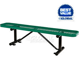 Steel Flat Benches - Expanded Metal or Perforated