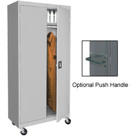 Sandusky All-Welded Mobile Wardrobe Cabinets