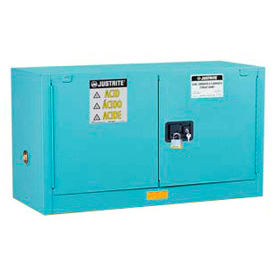 Justrite® Piggyback Acid Corrosive Cabinets