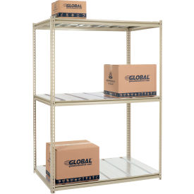 8'H High Capacity (Z-Beam) Boltless Metal Rack With Steel Deck