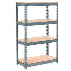 Global Industrial™ Wood Deck Boltless Steel Shelving