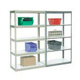 7' High Boltless Steel Shelving With Laminated Shelves