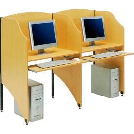 Carrel Study Desks and Computer Privacy Workstations