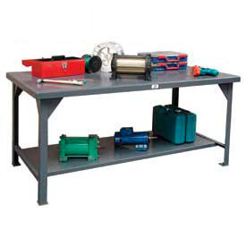 Fixed Height Extra Heavy-Duty Workbenches